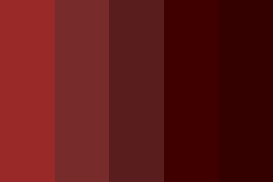 Ruby Nightmare Color Palette