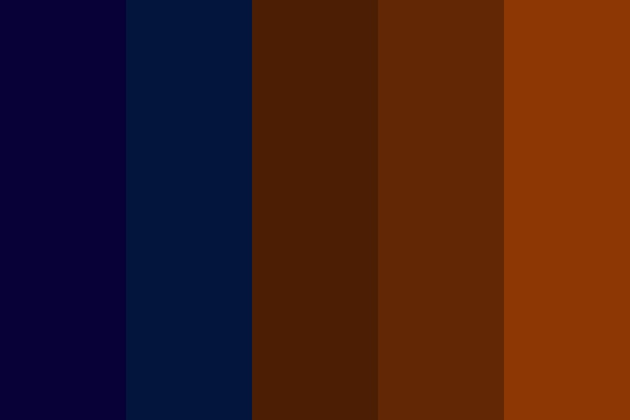 Rusty Blue Color Palette