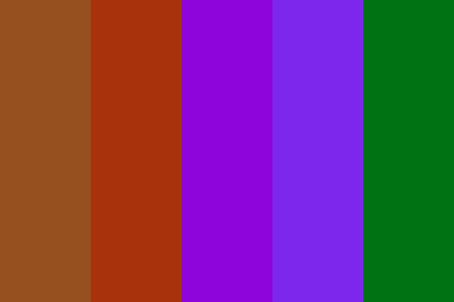 Sagittarius Sun Sign Color Palette