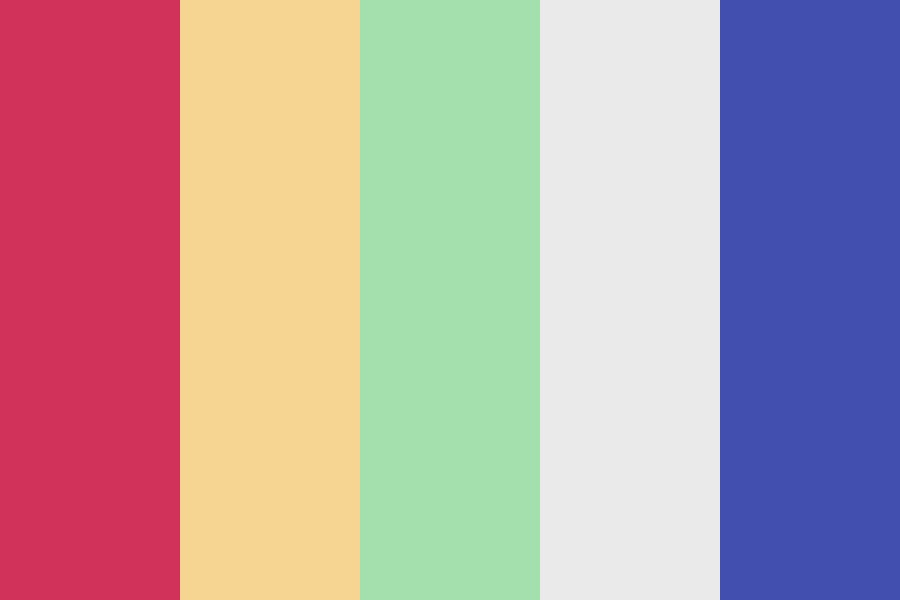 Salad Sky Color Palette
