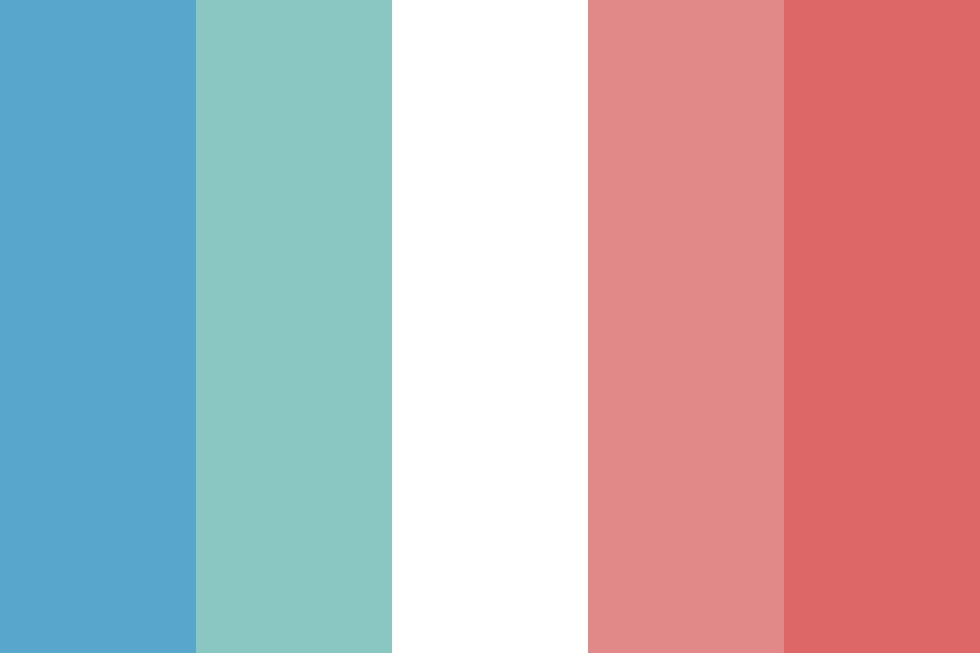 Salmon Ice Cream Color Palette