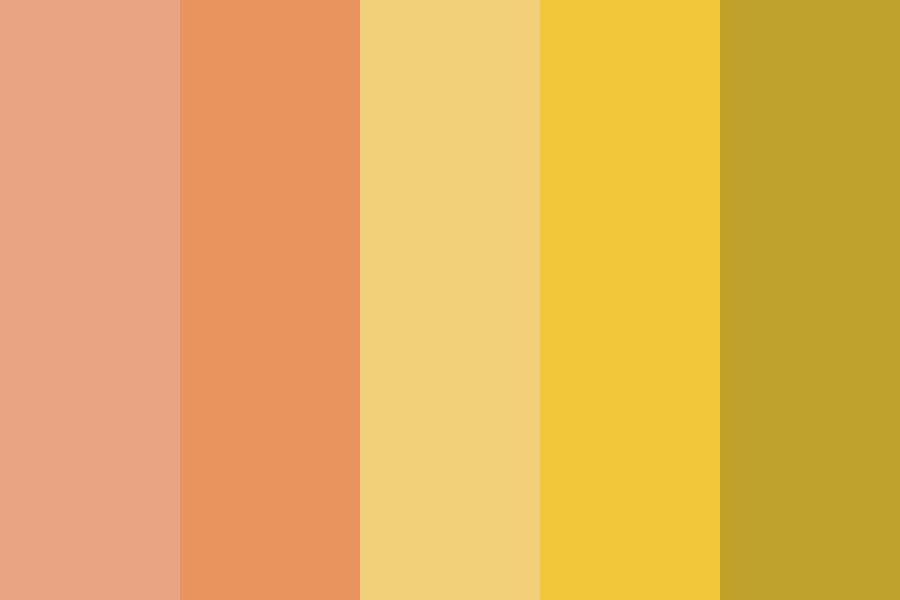 Salmonyellow Color Palette