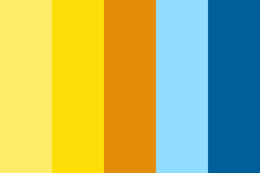 Sand And Sky Color Palette