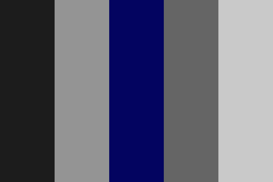 Satin Blue Color Palette