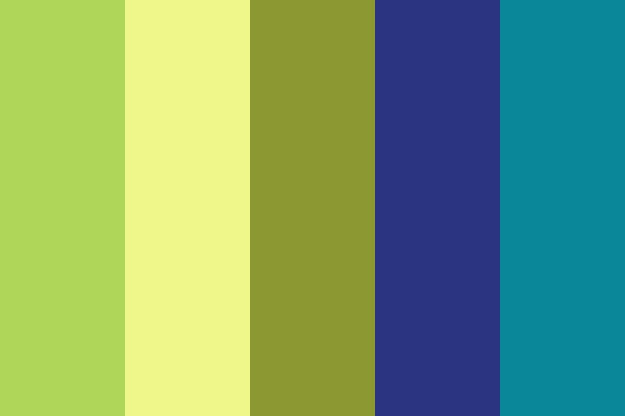 Saturday Morning Cartoons Color Palette