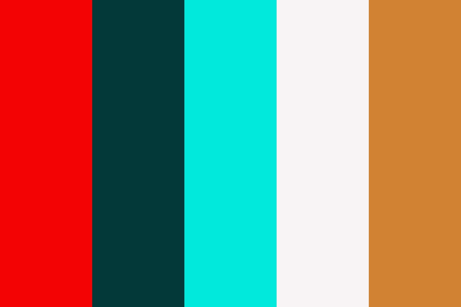 Scandinavian Christmas Color Palette