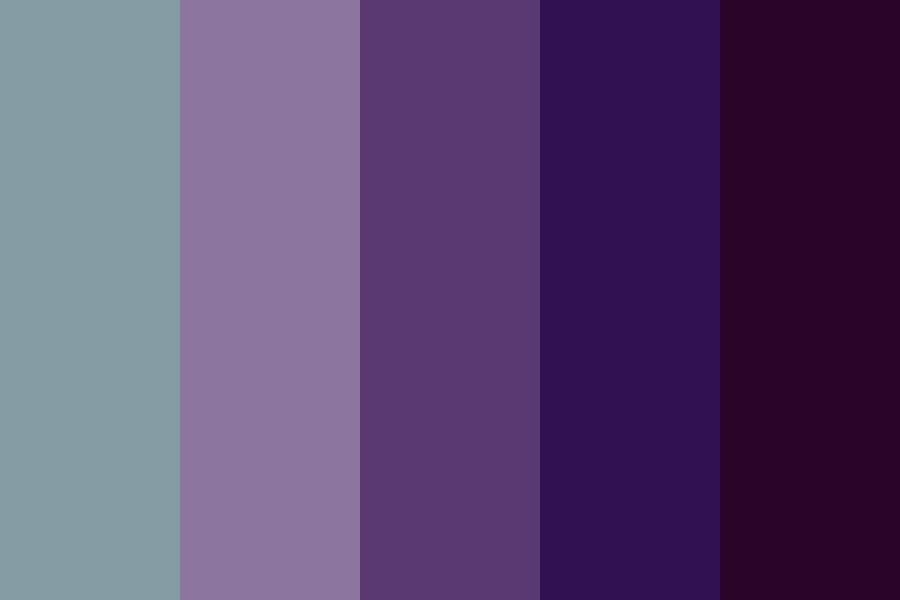 Screaming Into The Void Color Palette