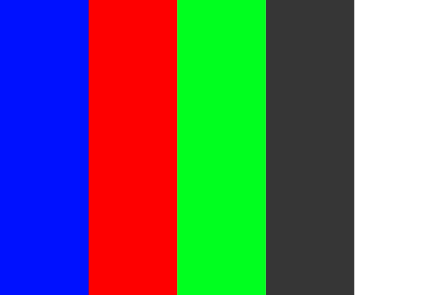 Screaming Television Color Palette