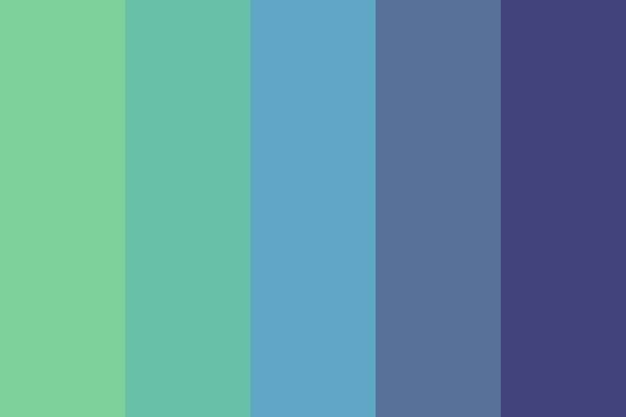 Sea Ocean Color Palette