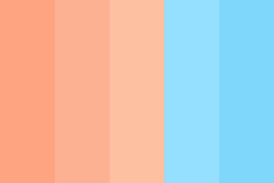 Sea Salt Creamsicles Color Palette