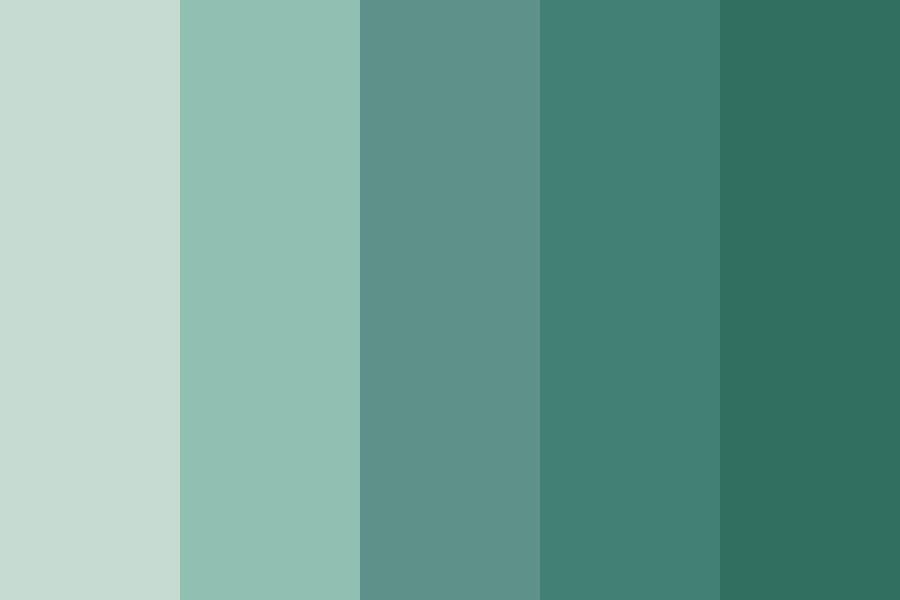 Seafoam And Sky Color Palette