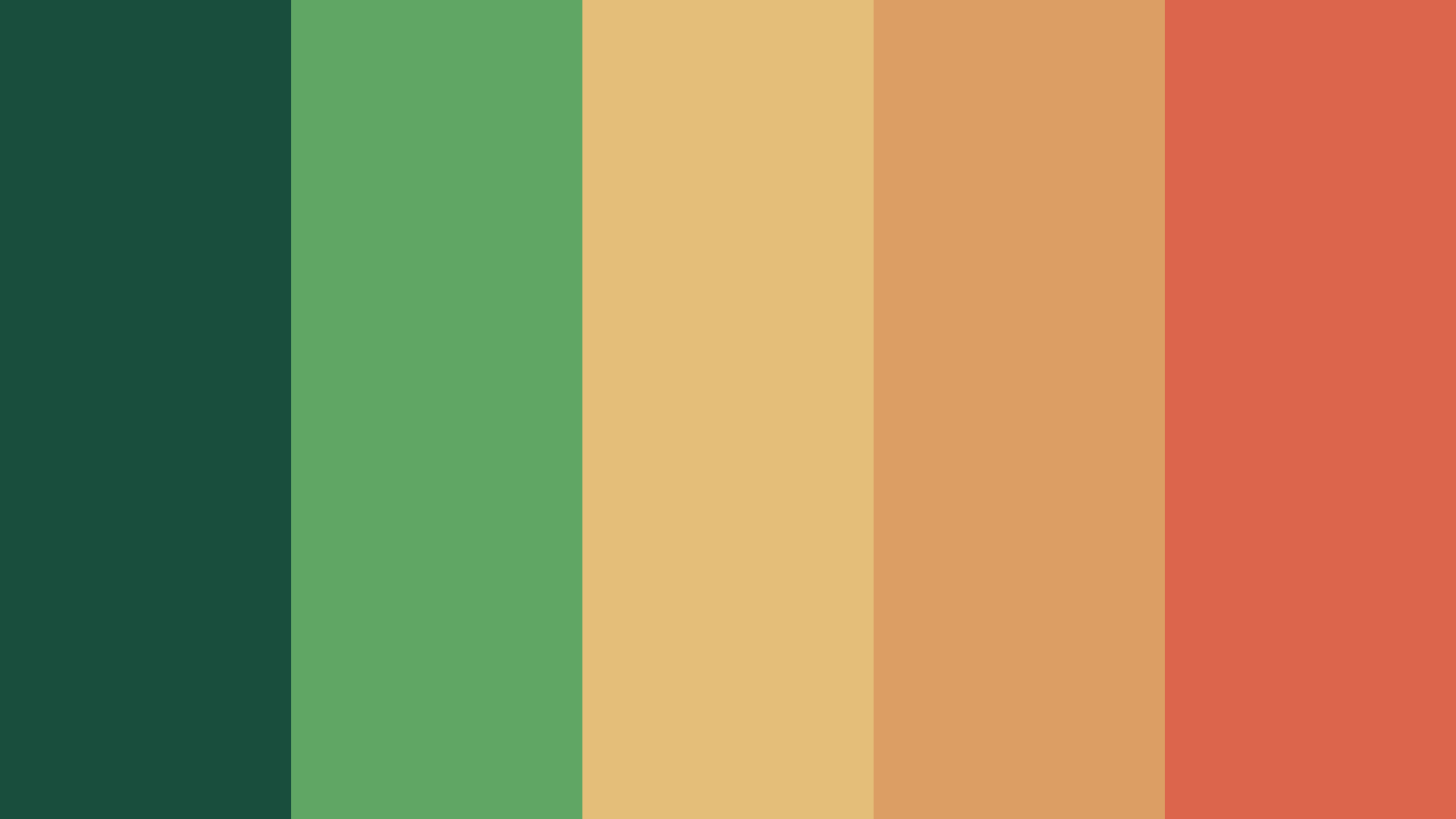 Searching For The Earth Color Palette