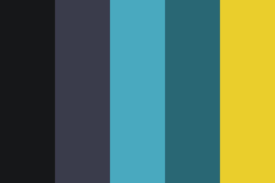 See In The Dark Color Palette