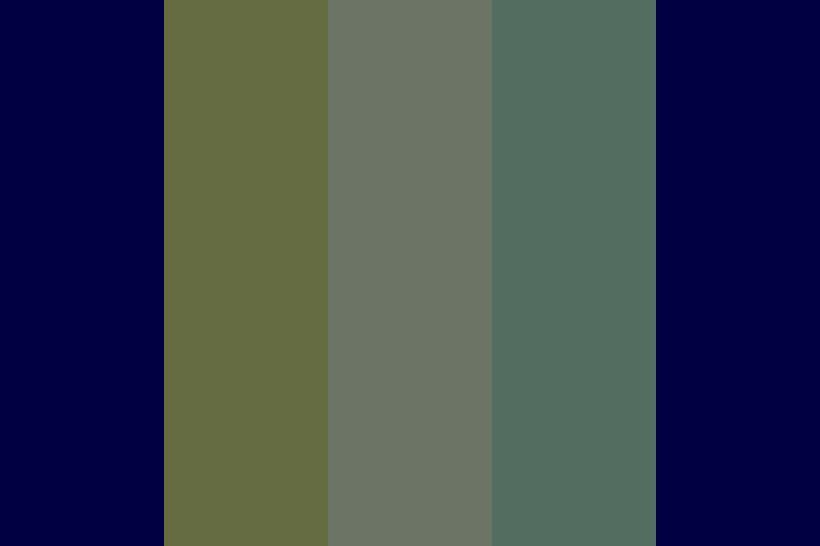 Selma Blue Color Palette