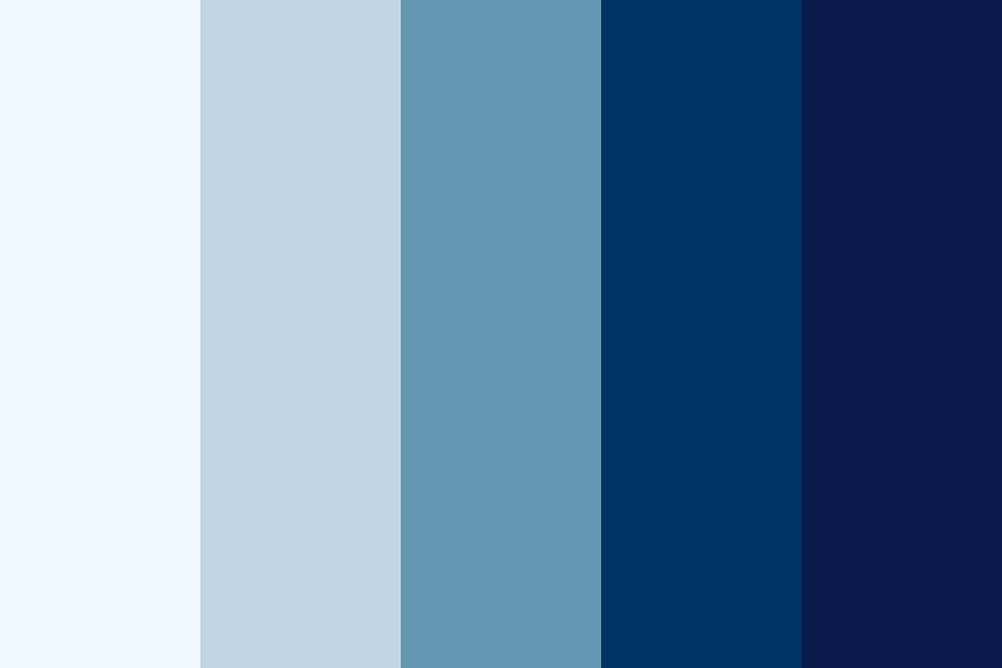 Settingblues Color Palette