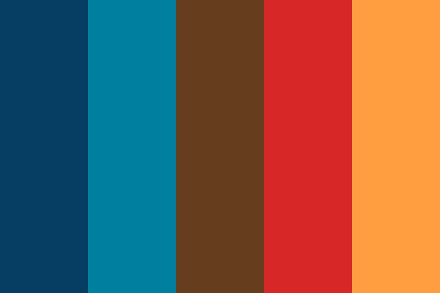 Settle Around The Campfire Color Palette