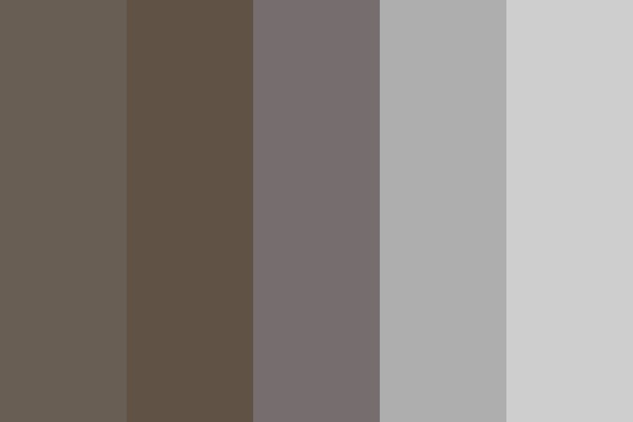 Shade Of Grays Color Palette