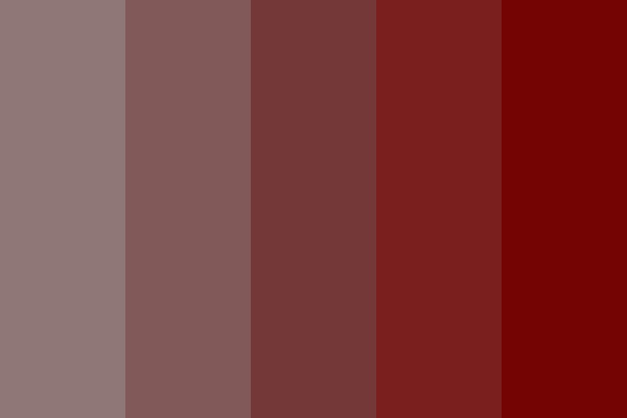 Shades Of Grey In Rose Color Palette
