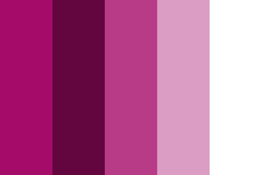 Shades Of Pink For Space Theme Color Palette