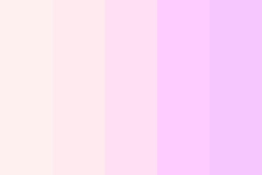 Shades Of Pink To Purple Color Palette