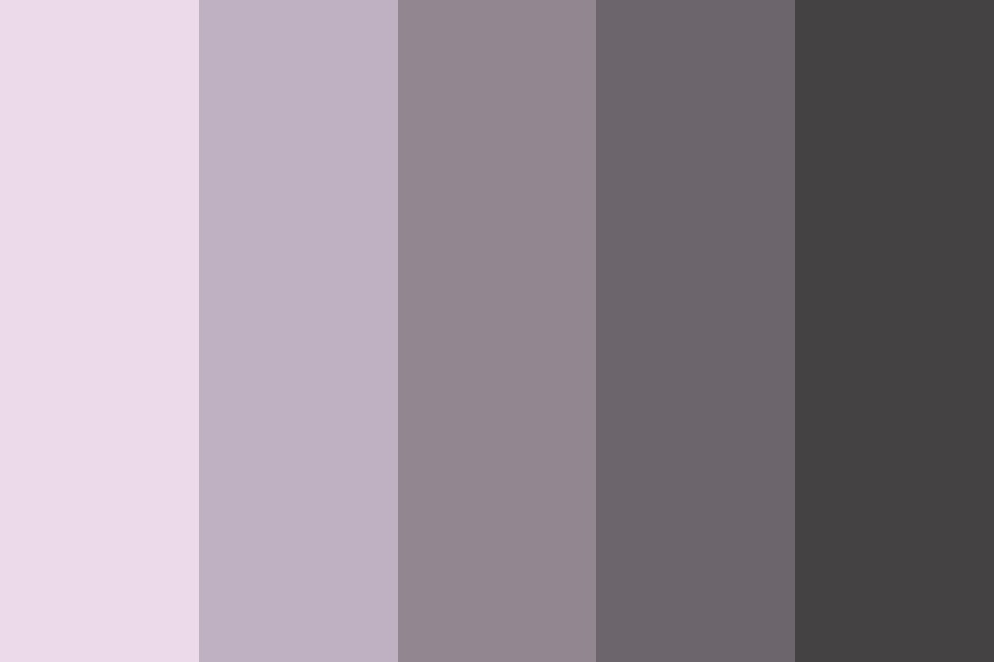 Shades Of Pinks Color Palette