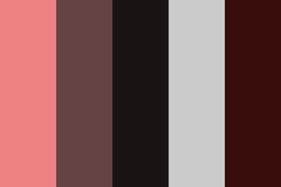 Shades Of Reds Color Palette