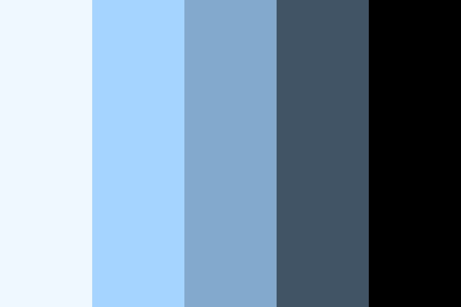 Shades Of The Sky Color Palette
