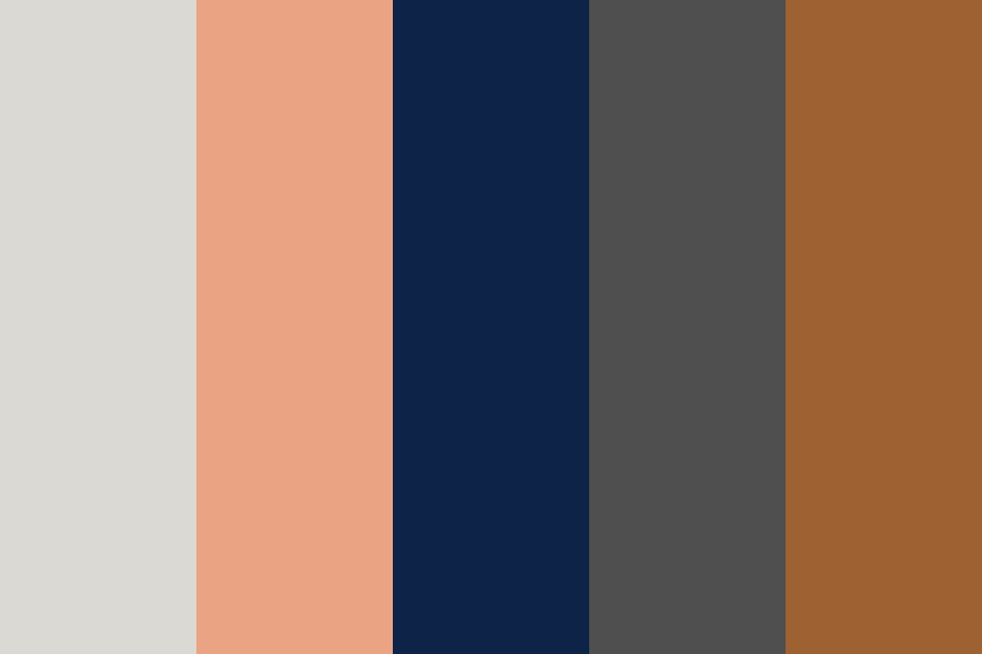 She Rambles At Night Color Palette