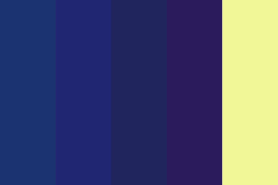 Shine Of A Nightlight Color Palette