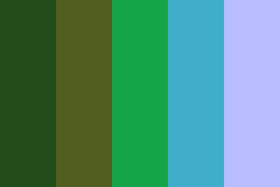 Shining Nature Color Palette