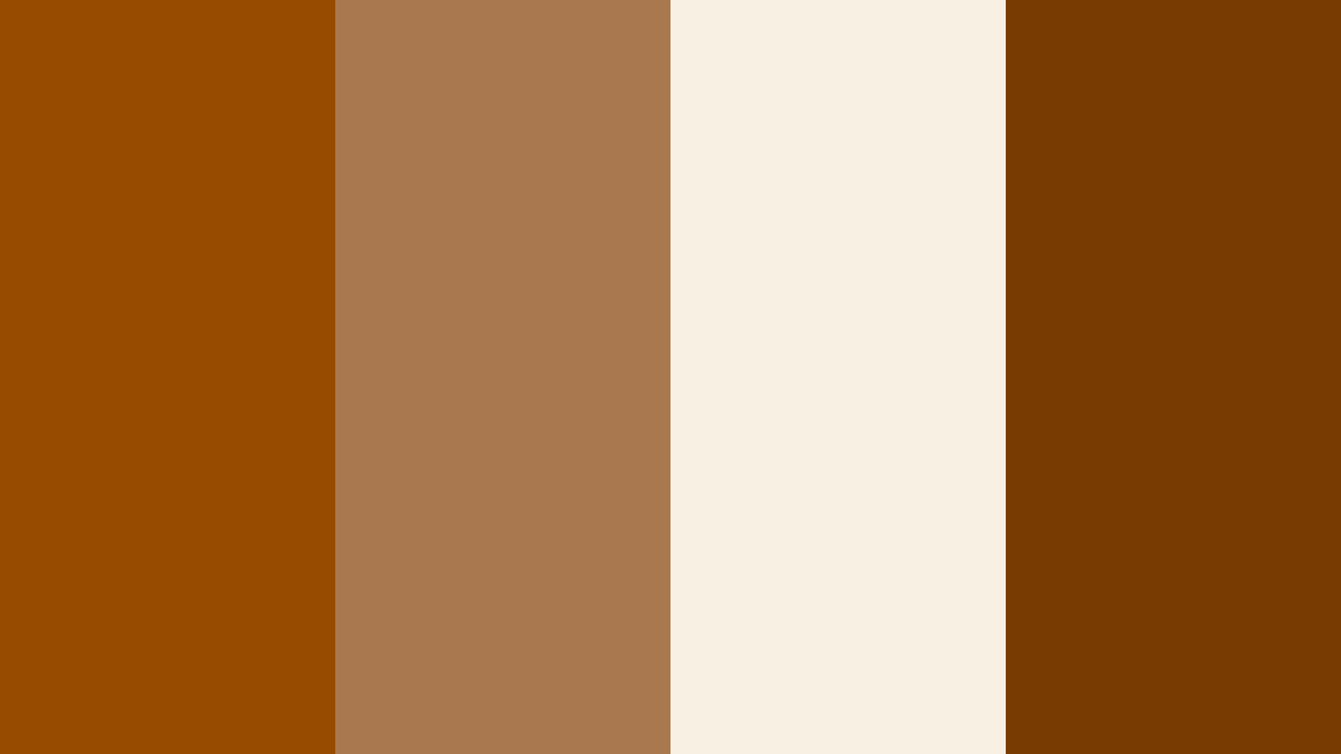 Shiny Brown Color Palette
