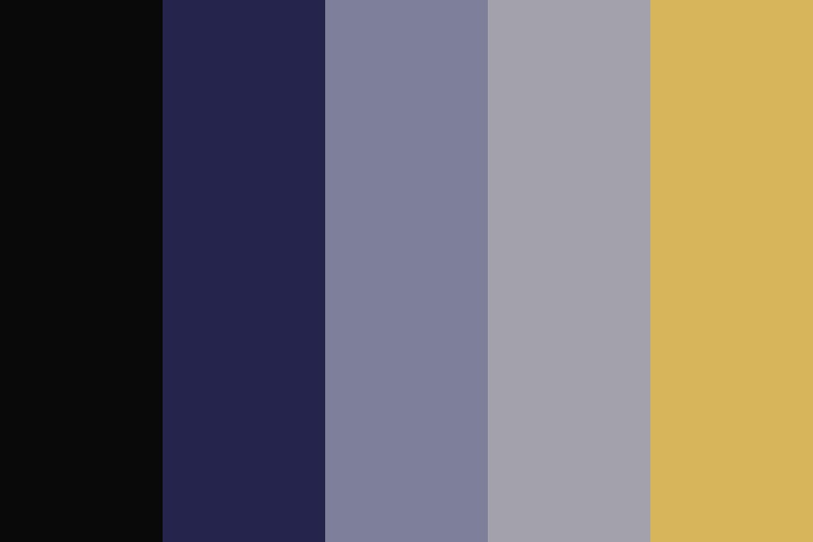 Ships In The Night Color Palette