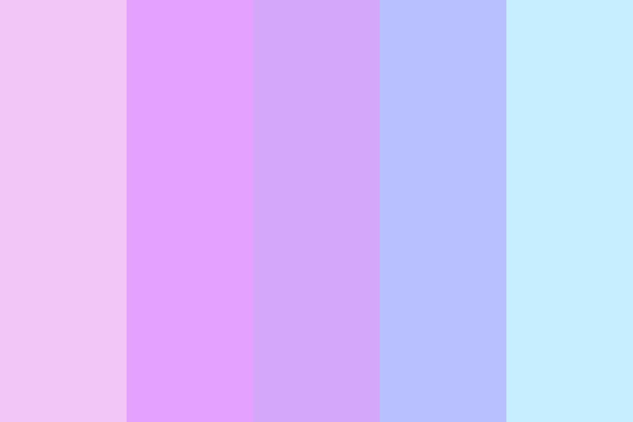 Shiros Pastell Hair Color Palette