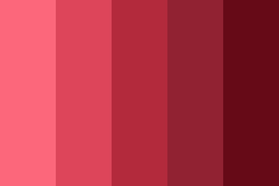 Shitty Reds Color Palette