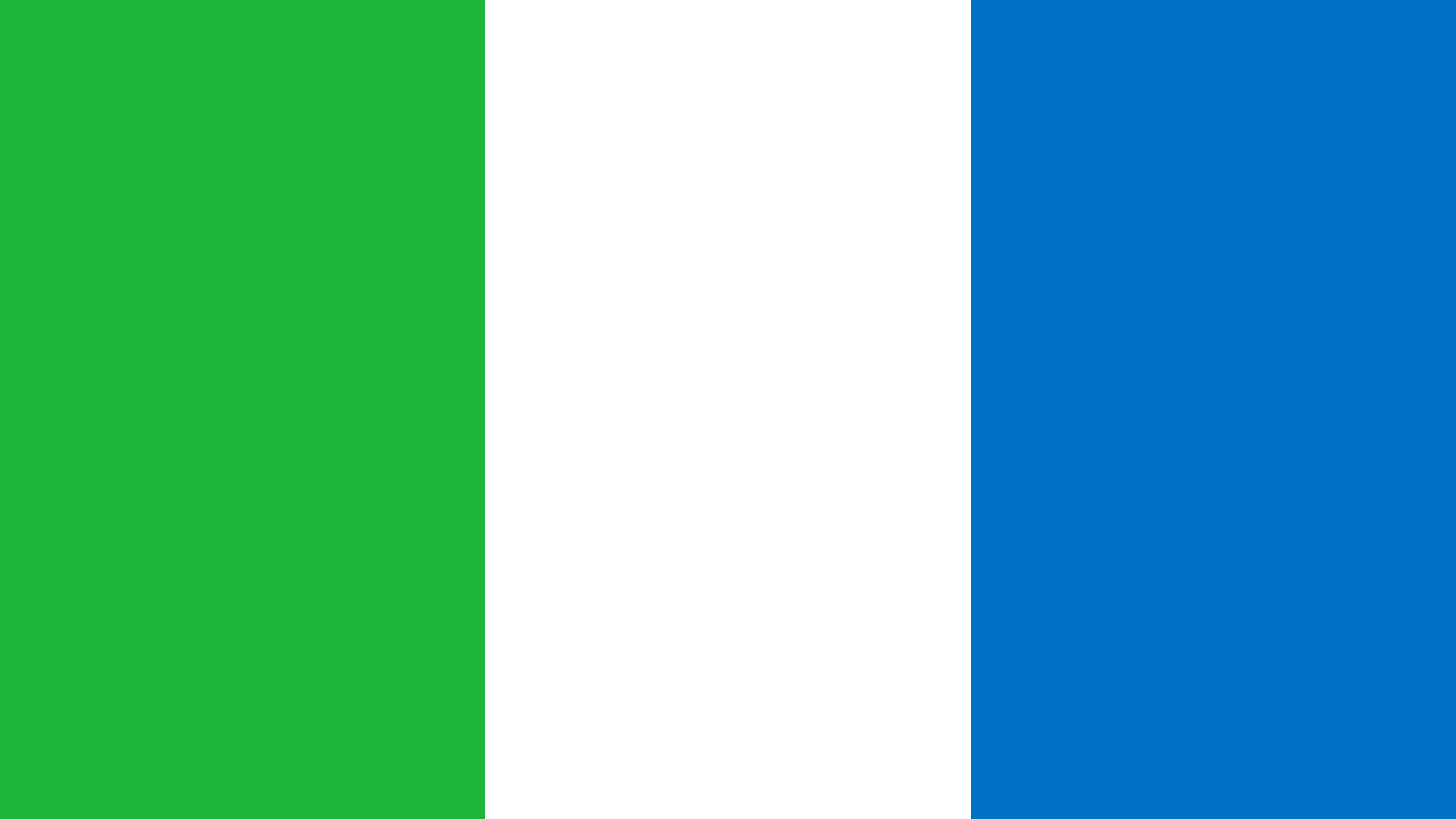 Sierra Leone Flag Color Palette