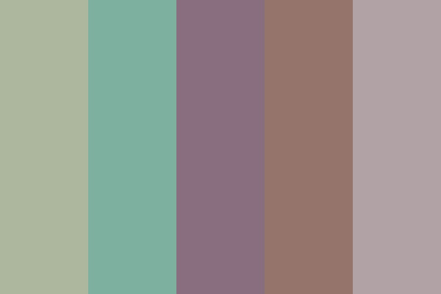 Silly Blue Hair Color Palette