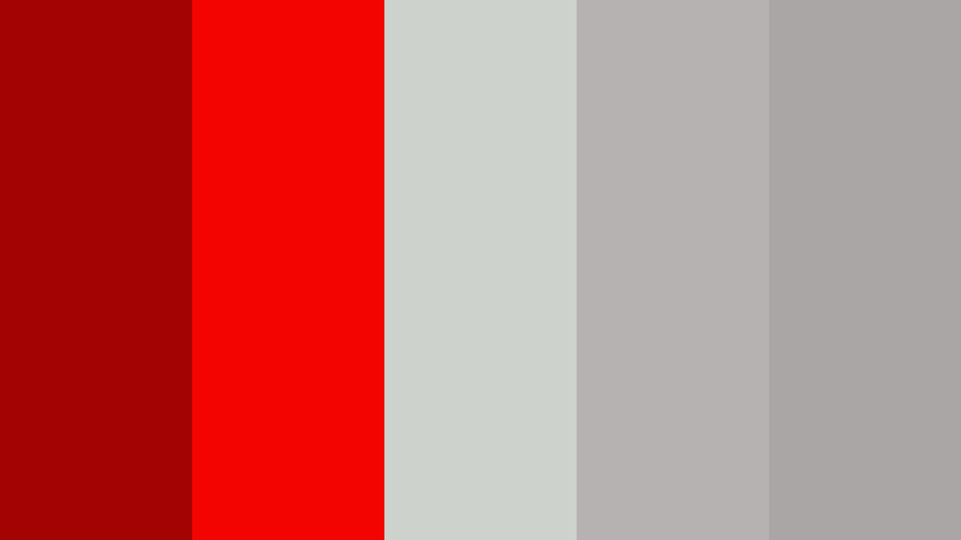 Silver Gift With Red Ribbon Color Palette