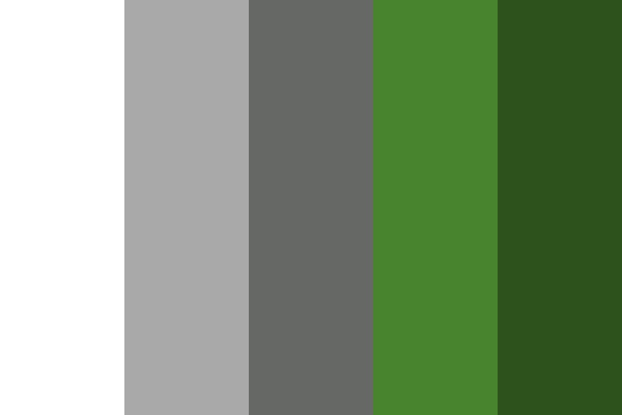 Silver Plated Color Palette