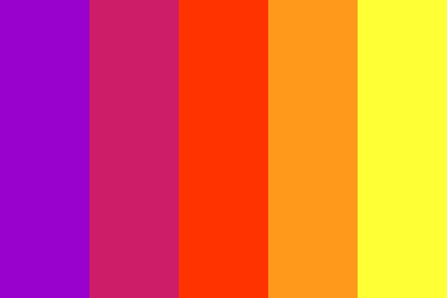Simple Sunset Color Palette