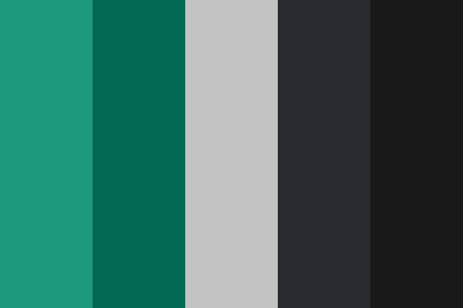 Simplegreen Color Palette