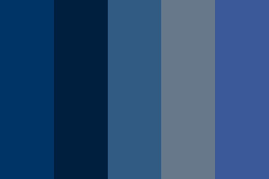 Siyona Blue Color Palette