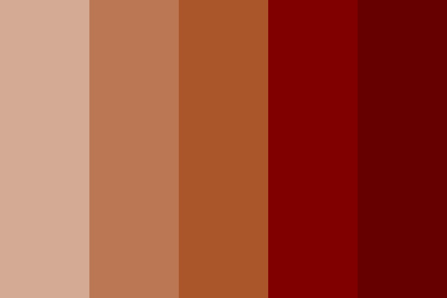 Siyona Bronze Color Palette