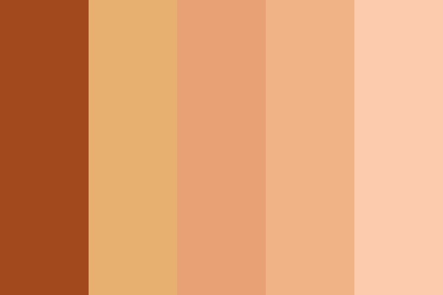 Skin Aesthetic Color Palette