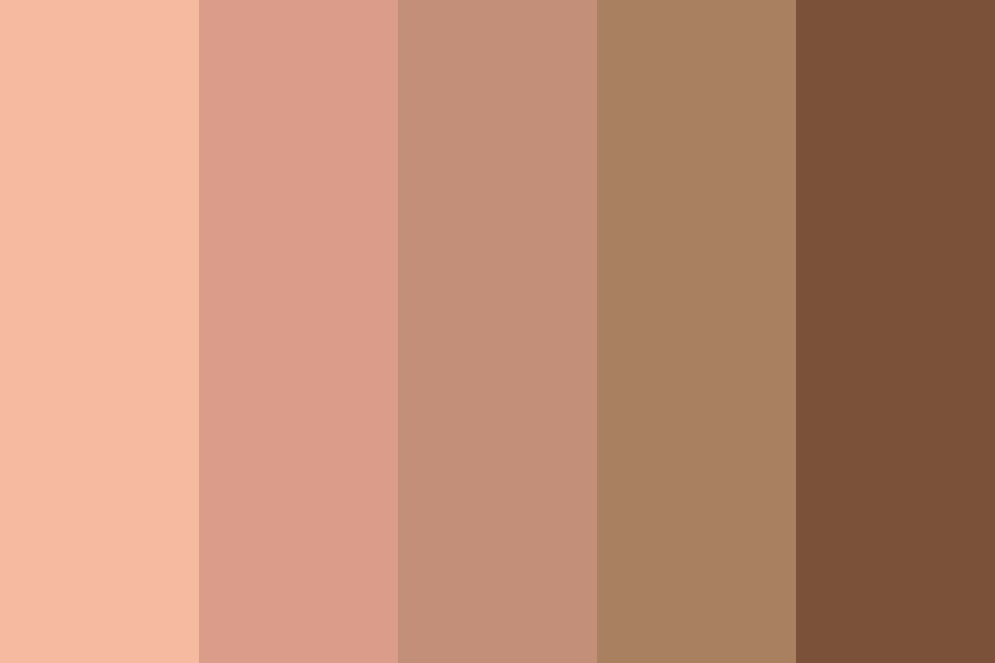 Skin And Brown Day Color Palette