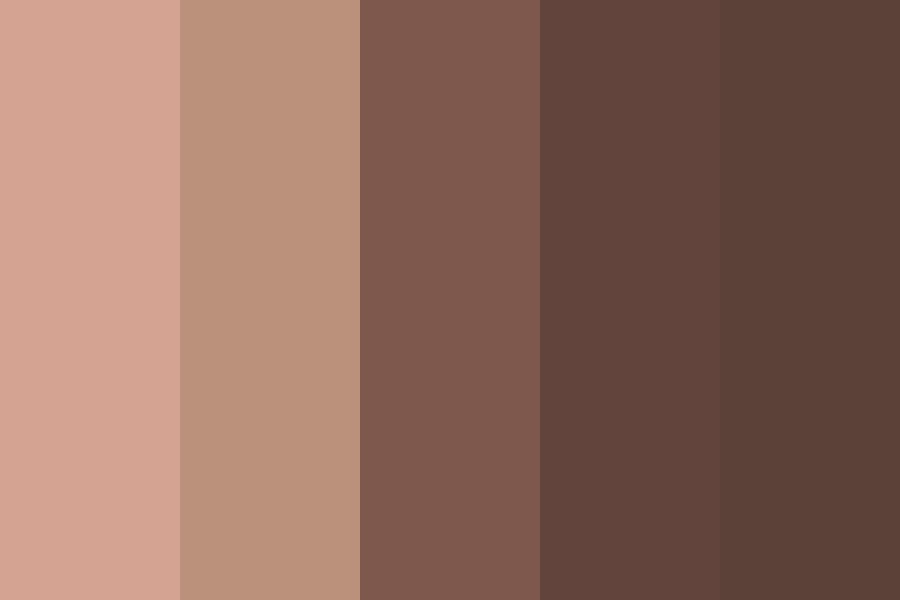 Skin And Shadow Color Palette