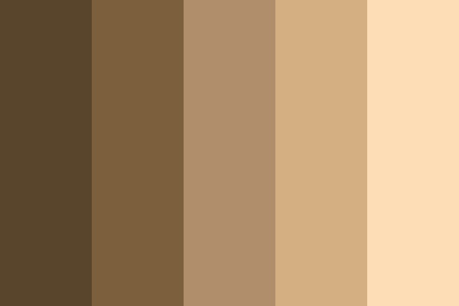 Skin Tones   General Color Palette