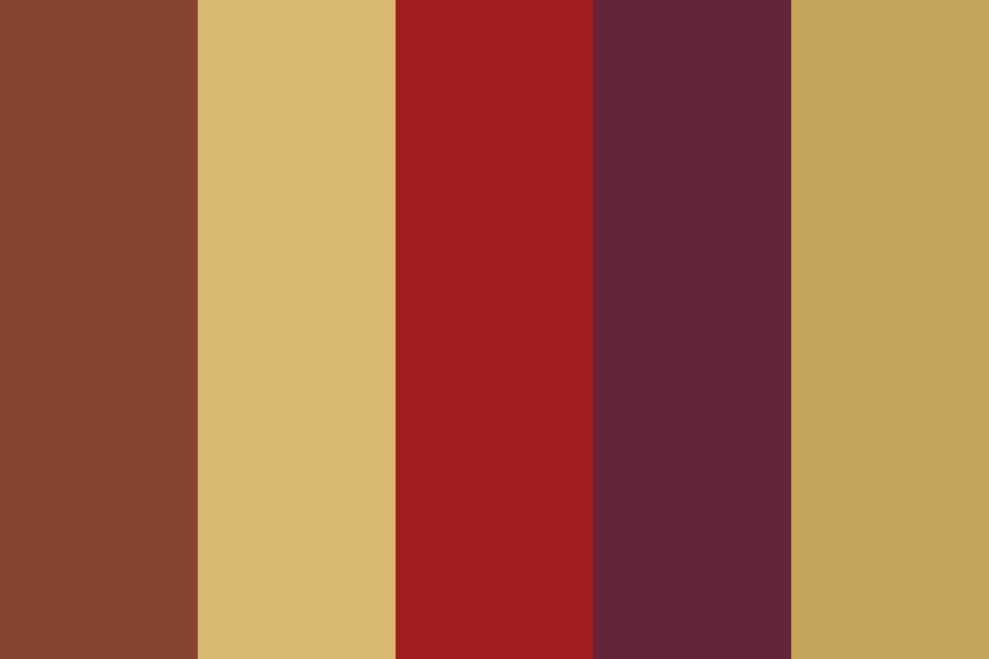 Skin Wall Color Palette