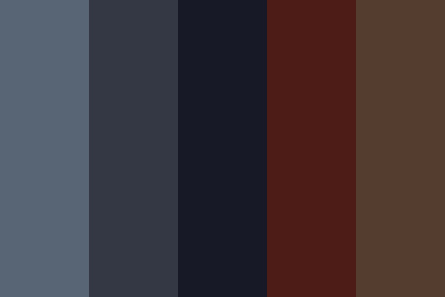 Sky And Blood Color Palette