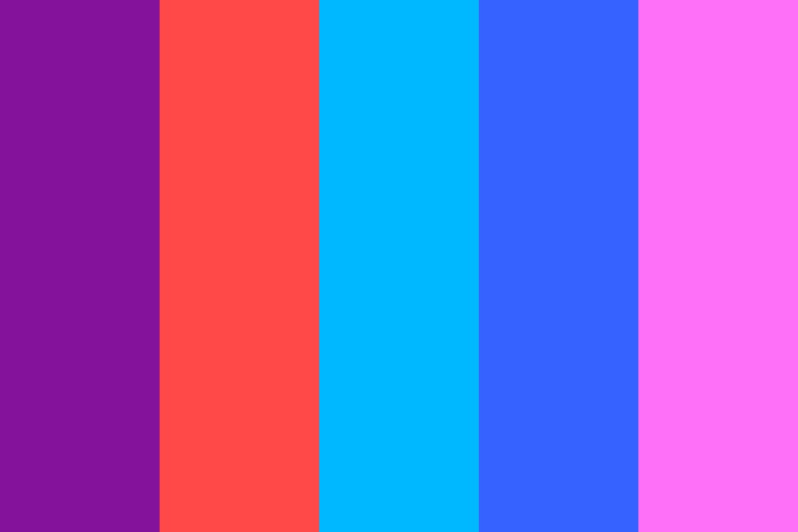 Sky Plus Plus Color Palette