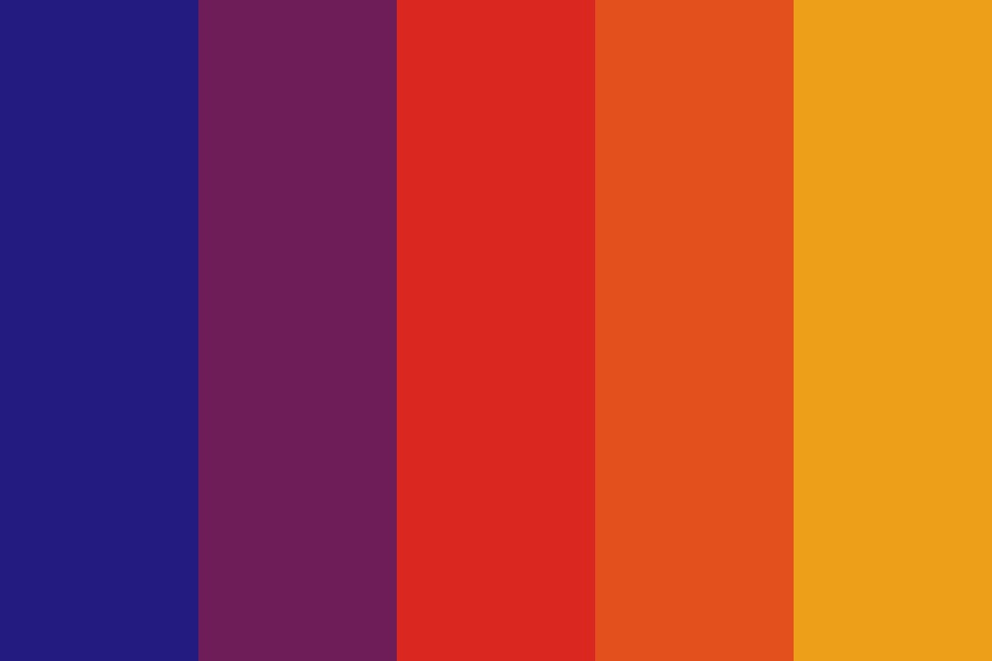 Skylines And Sunsets Color Palette